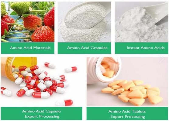 Branch Chain Amino Acids BCAA Natural Amino Acids CAS 69430-36-0 For Nutritional Supplement